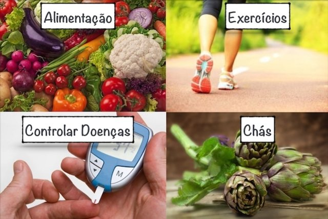 Tratamento para gordura no fígado
