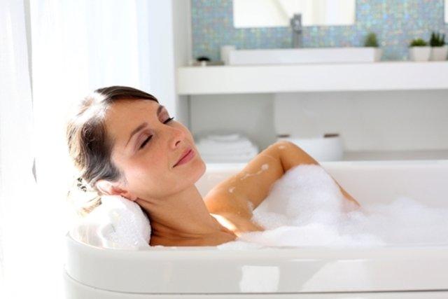 Banho de alfazema
