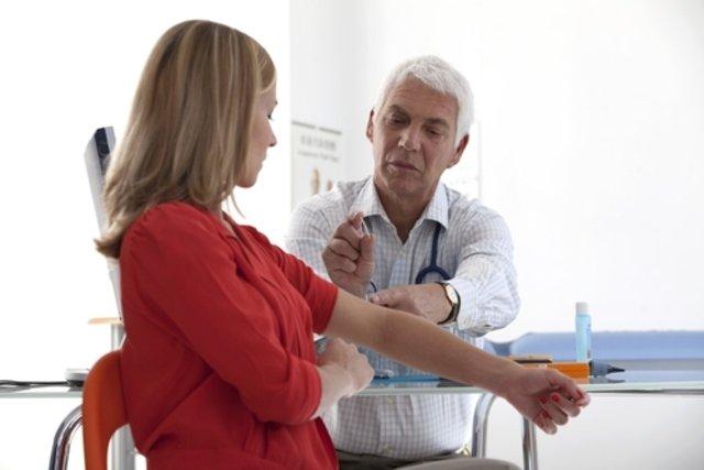 Colocação do implante pelo ginecologista