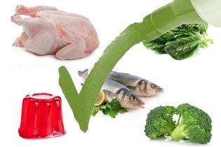 Alimentos permitidos na dieta da proteína magra