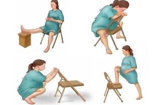 Aliviar a dor com cadeira