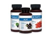Suplemento com antioxidantes naturais