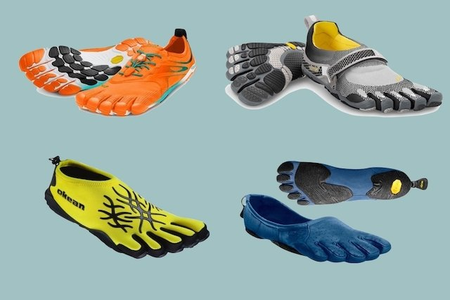 Calçado minimalista - Luvas para os pés