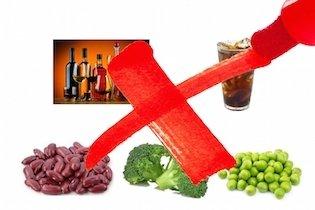 Alimentos proibidos após a cirurgia