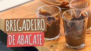 BRIGADEIRO DE ABACATE | Receita Caseira e Saudável